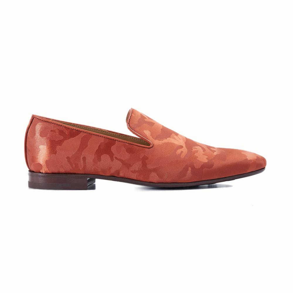 Paul Stuart Portland Slip-on Shoes Red Image
