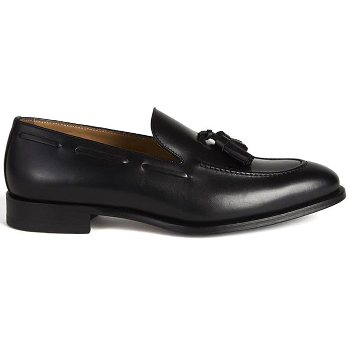 Paul Stuart The Bond Tassel Loafer Black Image