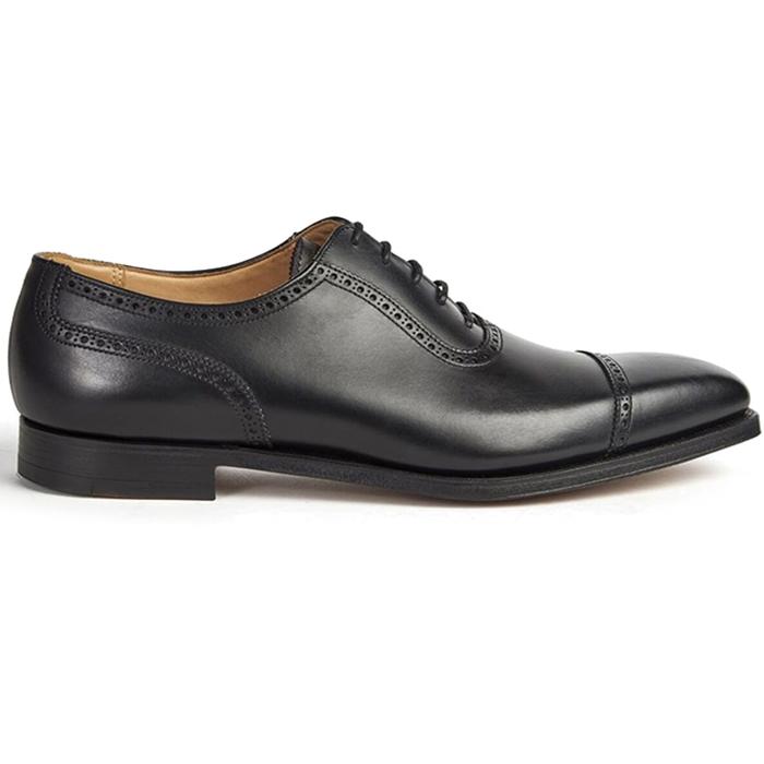 Paul Stuart The Westbourne Cap Toe Shoes Black Image