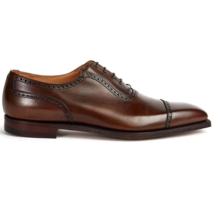 Paul Stuart The Westfield Cap Toe Lace-up Shoes Brown Image
