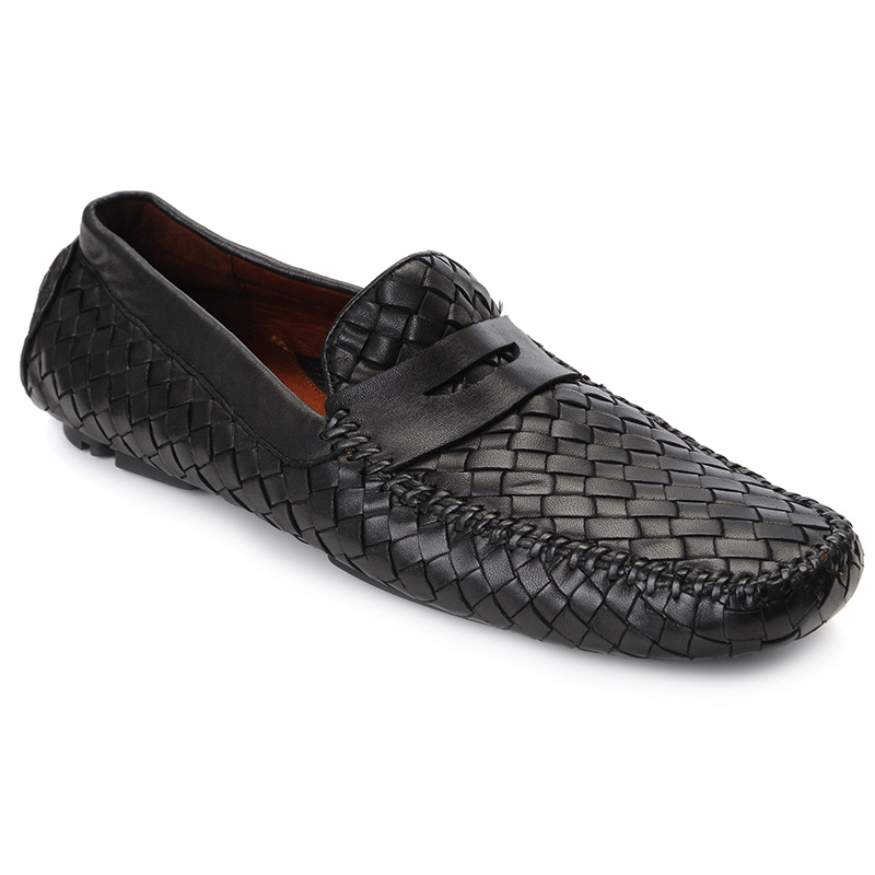 Robert Zur San Tropez Woven Shoes Black Image