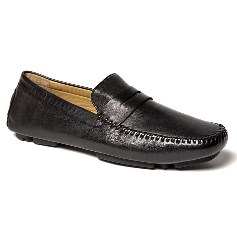 Robert Zur Sven Driving Shoes Black Image