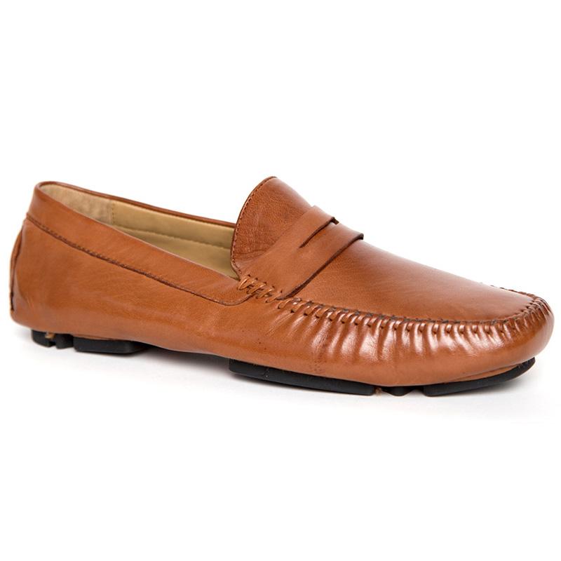 Robert Zur Sven Driving Shoes Saddle Tan Image