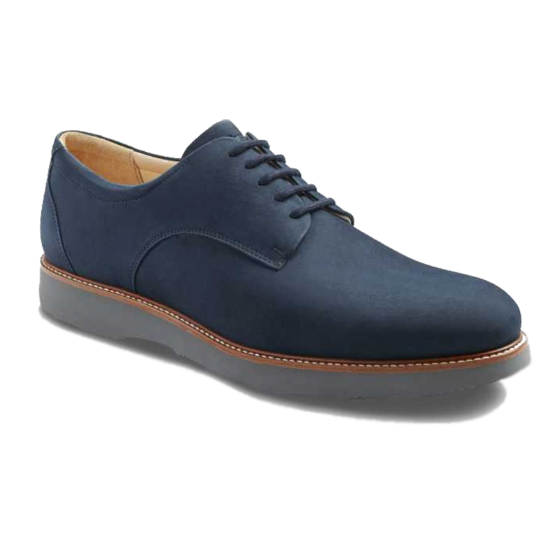 Samuel Hubbard Bucks Plain Toe Shoes Navy Image