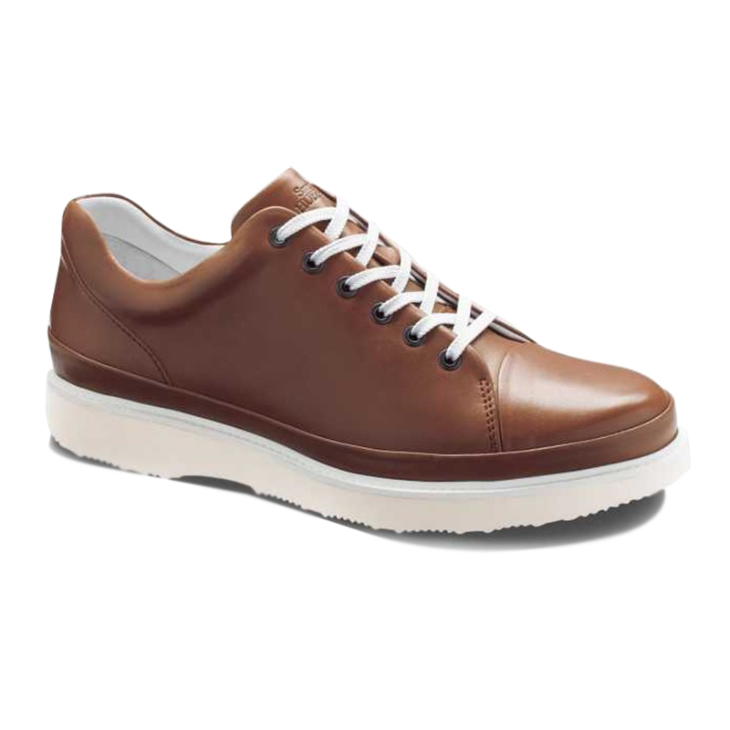 Samuel Hubbard Fast For Him Lace Up Sneaker Burnished Tan Image