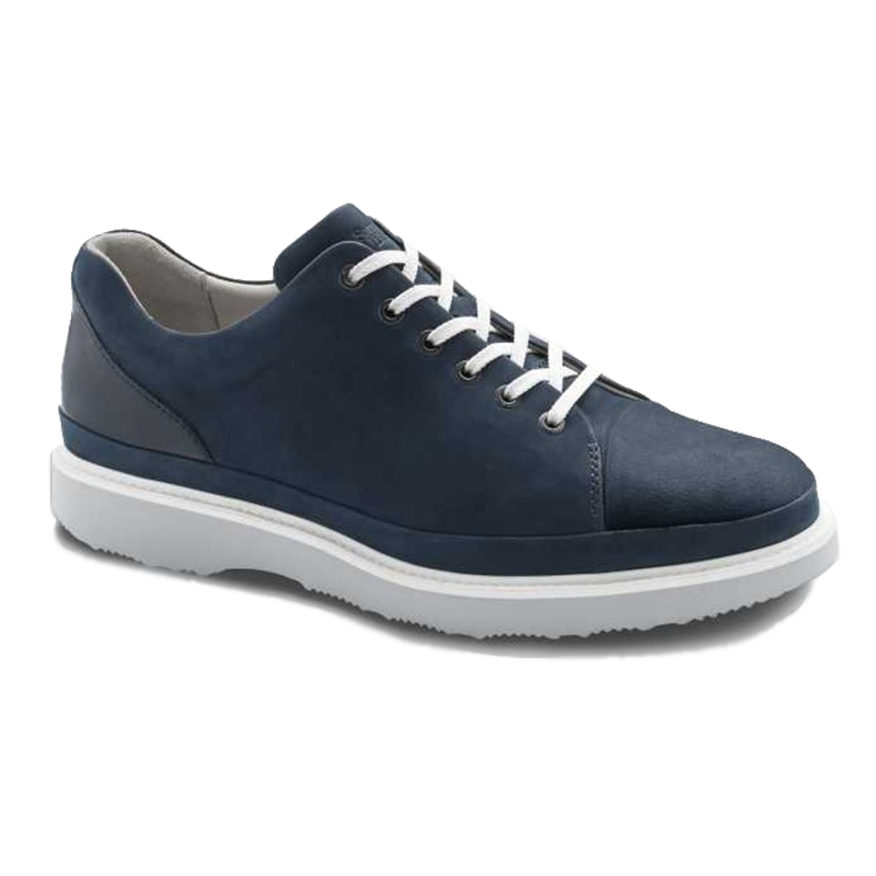 Samuel Hubbard Fast For Him Lace Up Sneaker Navy Image