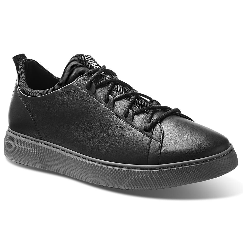 Samuel Hubbard Flight Leather Sneakers Black / Dark Gray Image