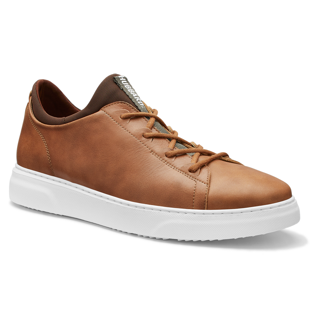 Samuel Hubbard Flight Leather Sneakers Burnished Tan / White Image
