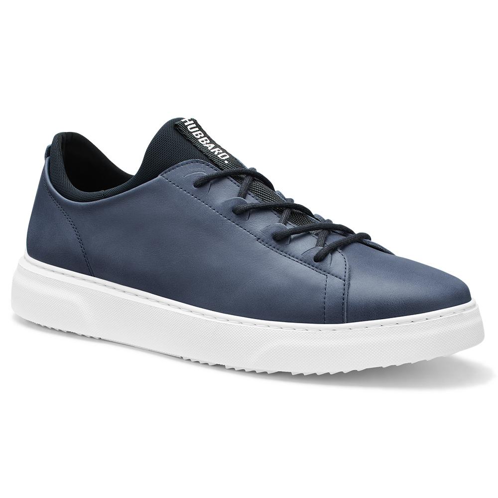 Samuel Hubbard Flight Leather Sneakers Jet Blue / White Image