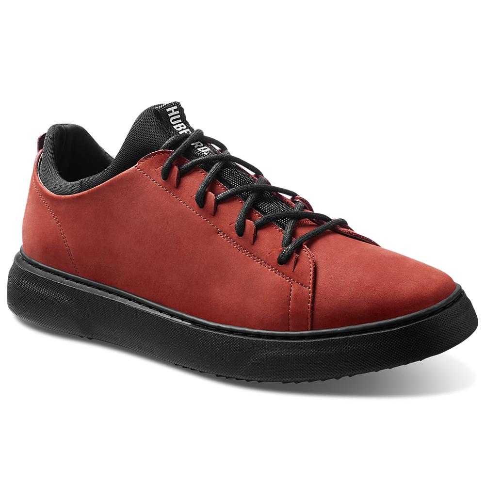 Samuel Hubbard Flight Nubuck Sneakers Rust / Black Image