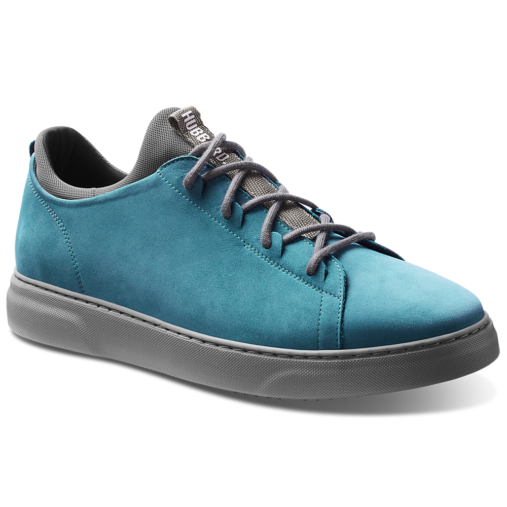 Samuel Hubbard Flight Nubuck Sneakers Sky Blue / Grey Image