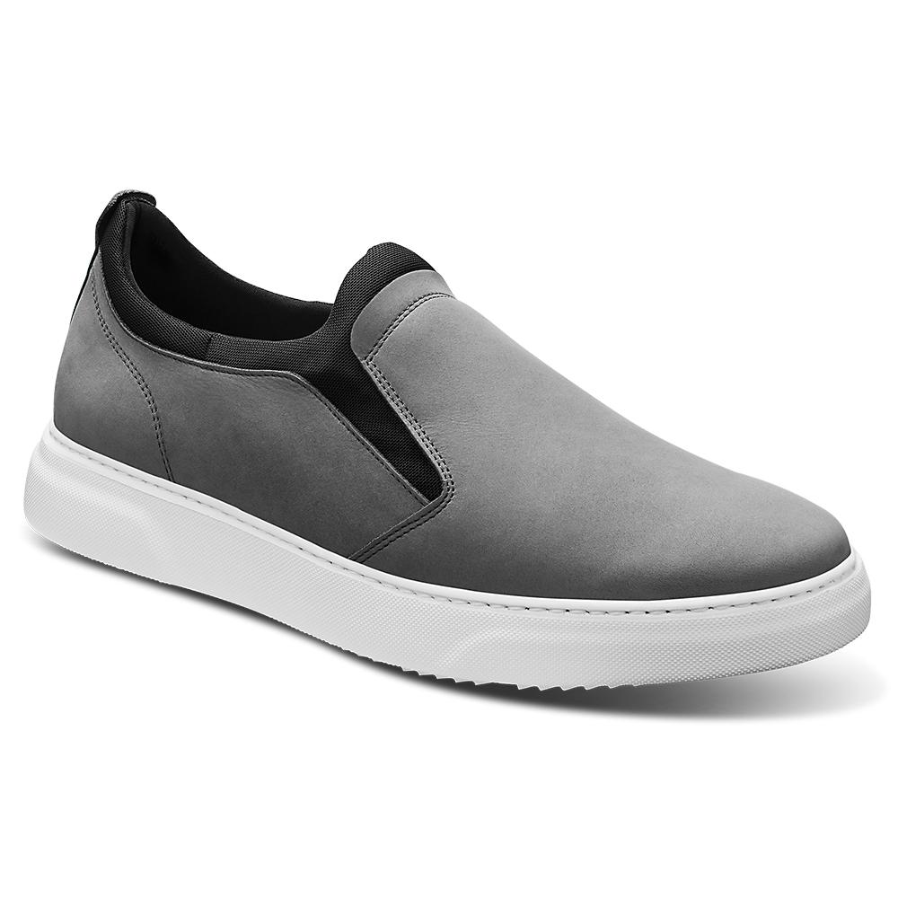 Samuel Hubbard Flight Slip-on Shoes Light Grey / White Image