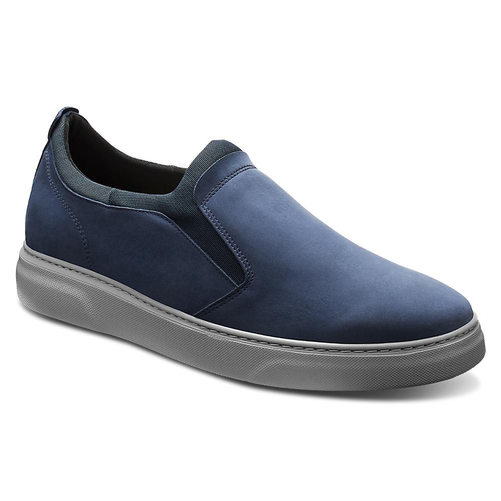 Samuel Hubbard Flight Slip-on Shoes Navy / Dark Gray Image
