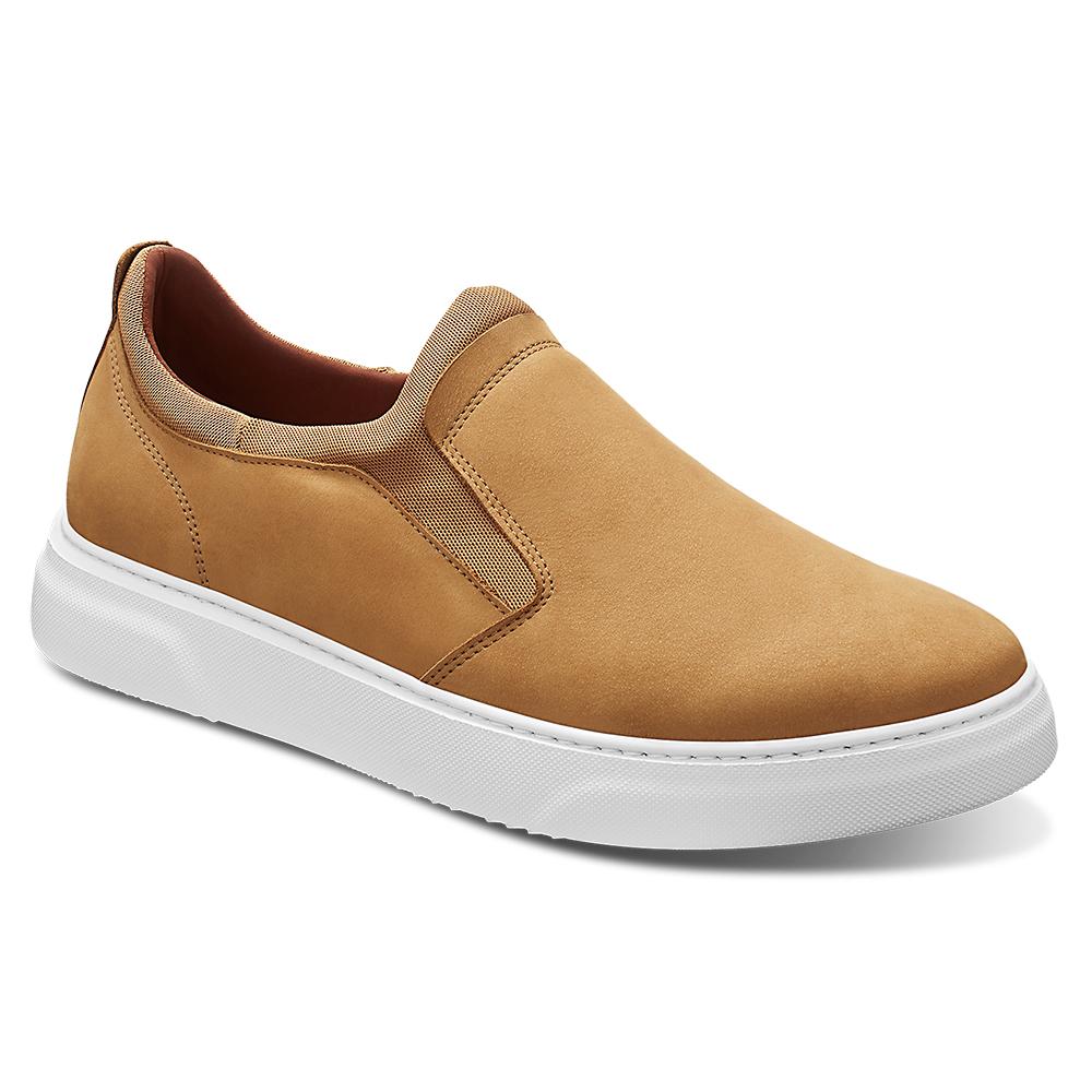 Samuel Hubbard Flight Slip-on Shoes Nutmeg / White Image
