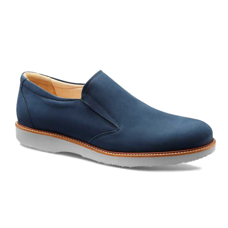 Samuel Hubbard Frequent Traveler Slip-on Oxford Navy Image
