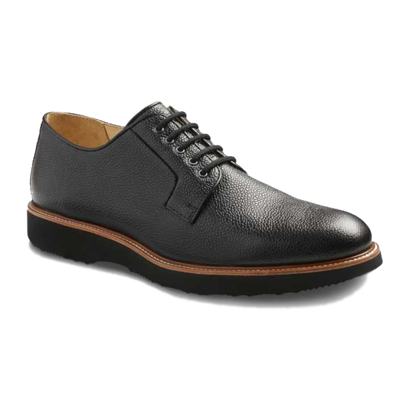 Samuel Hubbard Highlander Plain Toe Shoes Black Image