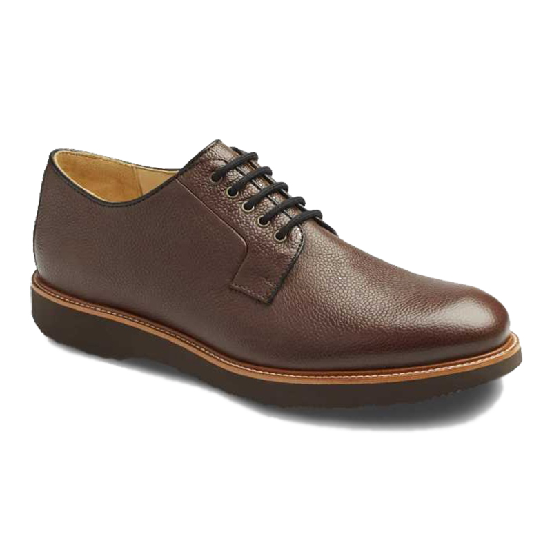 Samuel Hubbard Highlander Plain Toe Shoes Brown Image
