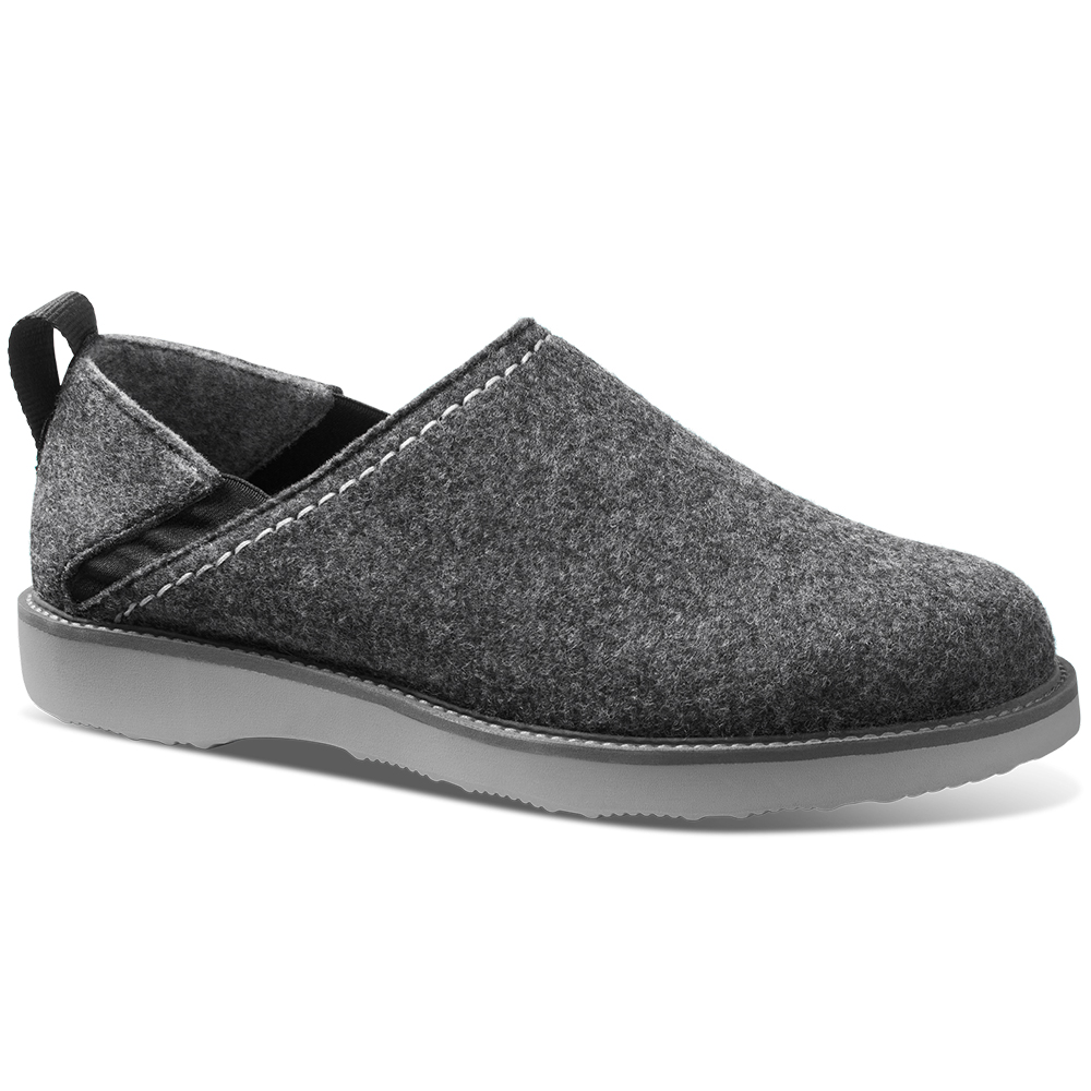 Samuel Hubbard Home Spring Back Slip-on Shoes Charcoal Gray / Gray Image