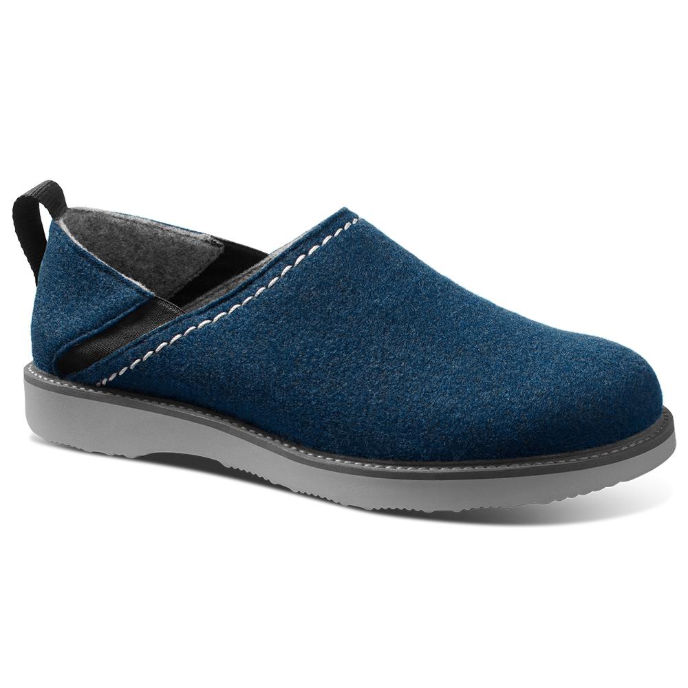 Samuel Hubbard Home Spring Back Slip-on Shoes Royal Blue / Gray Image