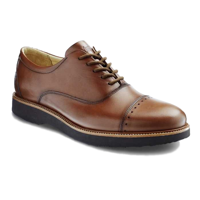 Samuel Hubbard Market Cap Whiskey Tan Shoes Image