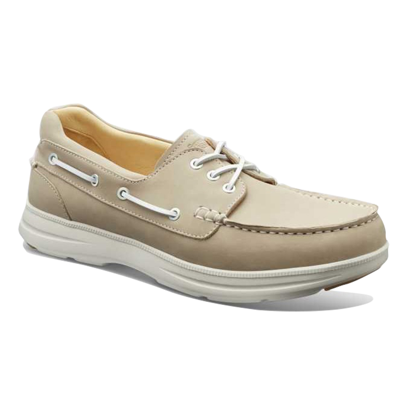 Samuel Hubbard New Endeavor Boat Shoes Driftwood Natural Image