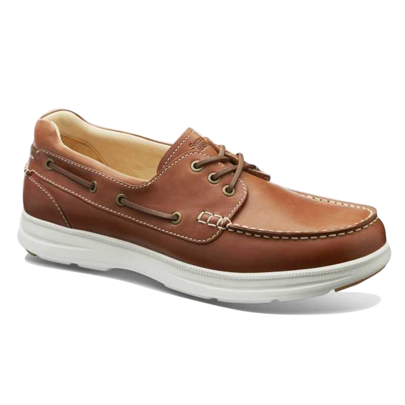 Samuel Hubbard New Endeavor Boat Shoes Saddlebag Tan Image