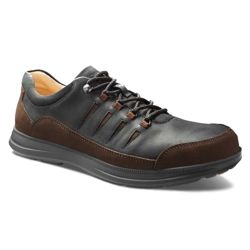 Samuel Hubbard Open Road Sneaker Black Waxhide Image