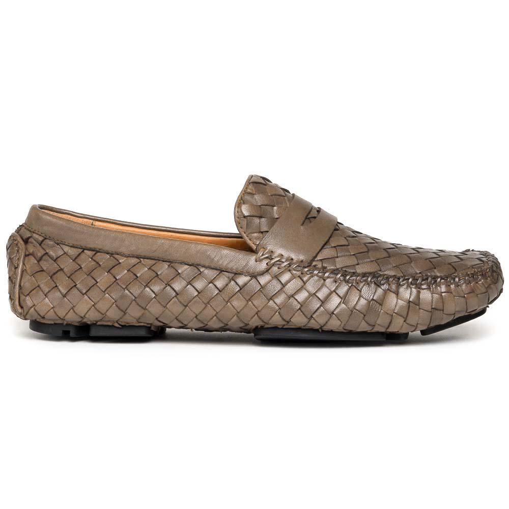 Robert Zur San Tropez Woven Shoes Vintage Truffle Image