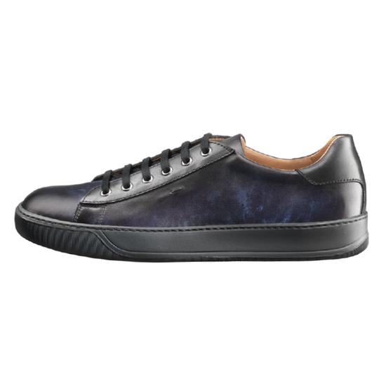 santoni sneaker navy