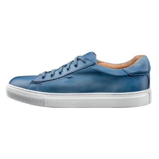 Santoni Apache G6 Sneakers Blue Image