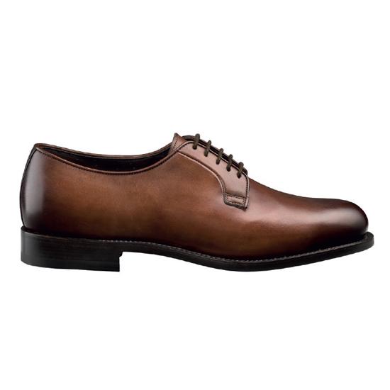 Santoni Baird Blutcher Shoes Tan Image