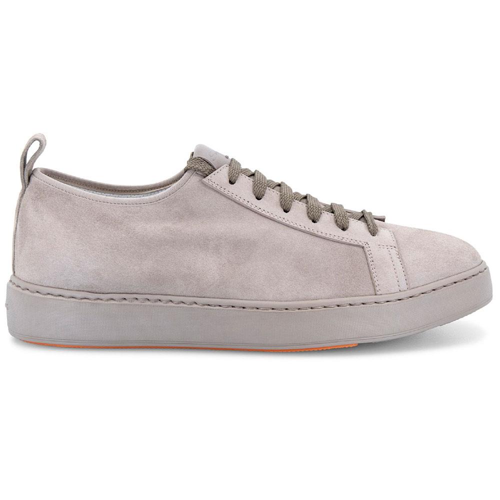 Santoni Barit Suede Sneakers Taupe Image