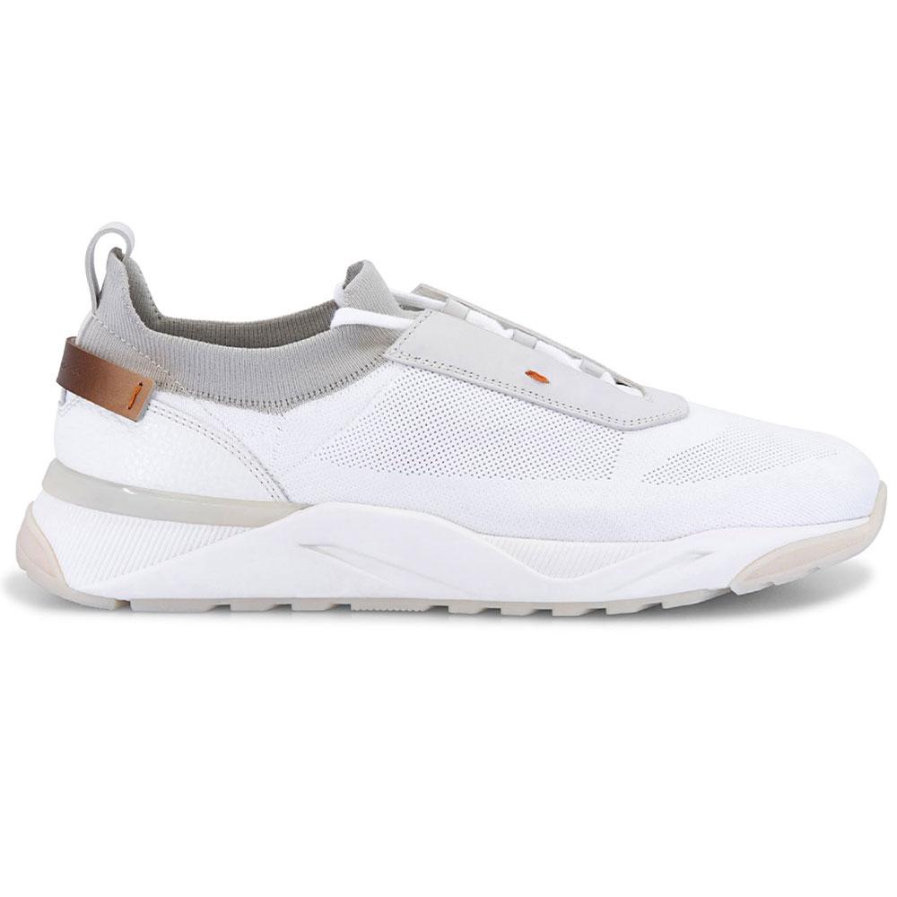 Santoni Bueno Sneakers White Image