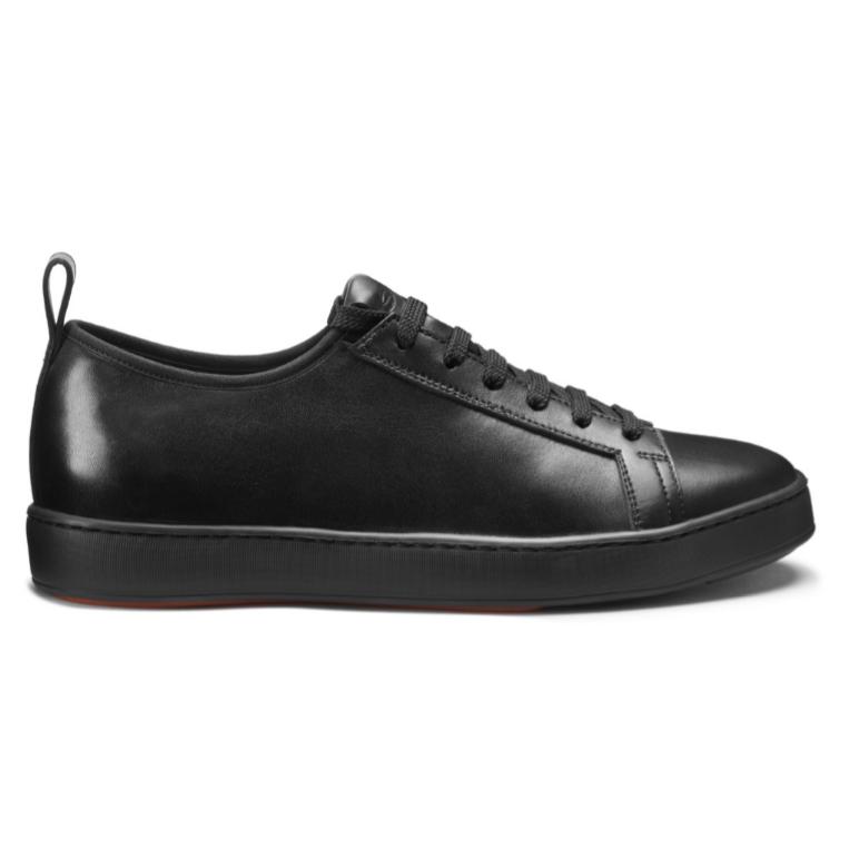 Santoni CLTT Nappa Sneakers Black Image