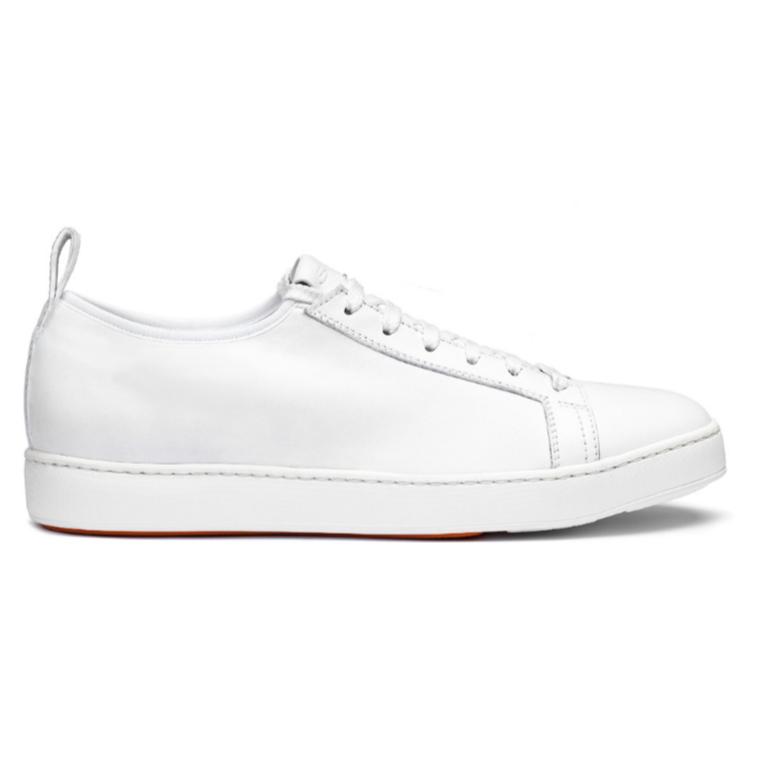Santoni CLTT Nappa Sneakers White Image