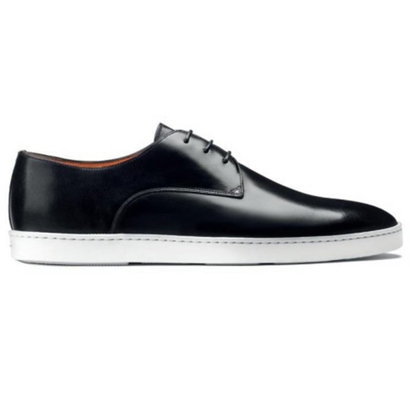 Santoni Doyle W1 Derby Sneaker Black Image