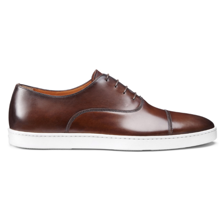 Santoni Durbin 01 Sneakers Brown Image