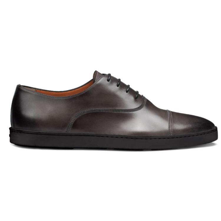 Santoni Durbin 01 Sneakers Gray / Black Sole Image