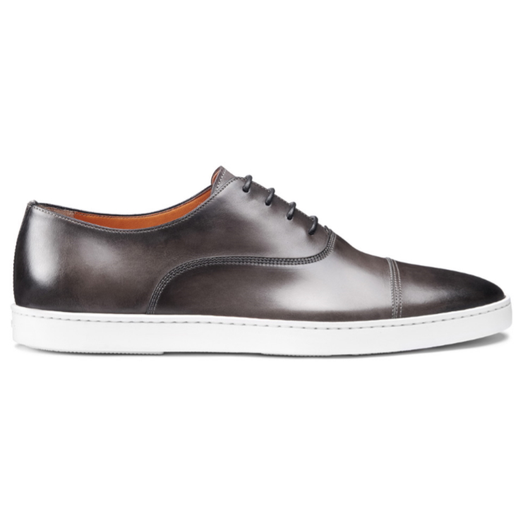 Santoni Durbin 01 Sneakers Gray Image