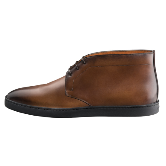 Santoni Eddy 2 Chukka Boot Brown Image