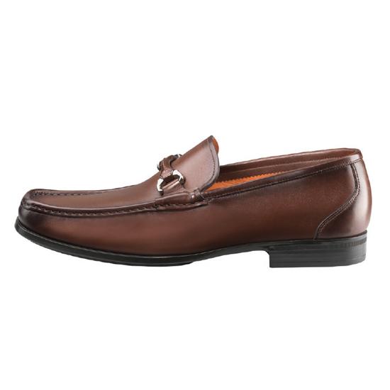 Santoni Evan 2 Slip On Shoes Brown Image