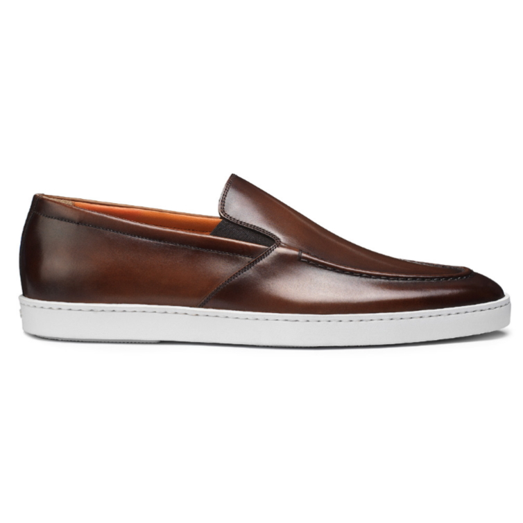 Santoni Farley 01 Sneakers Brown Image
