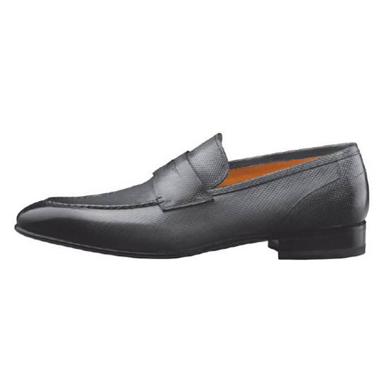 Santoni Felipe 8 Slip On Shoes Grey Image