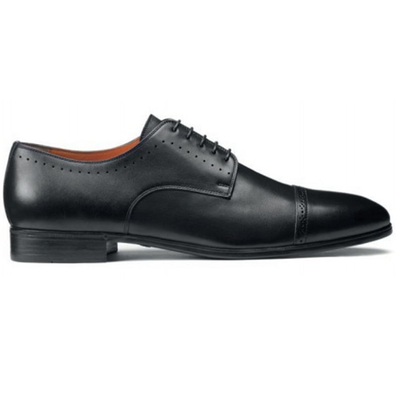 Santoni Gareth Derby Shoes Black Image