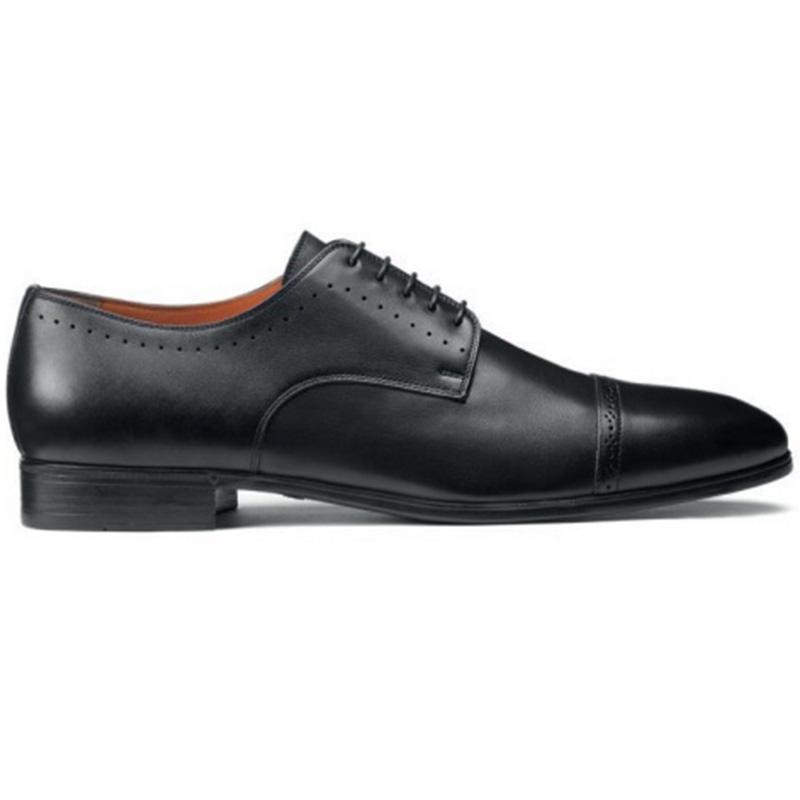 Santoni Gareth Derby Shoes Black Image