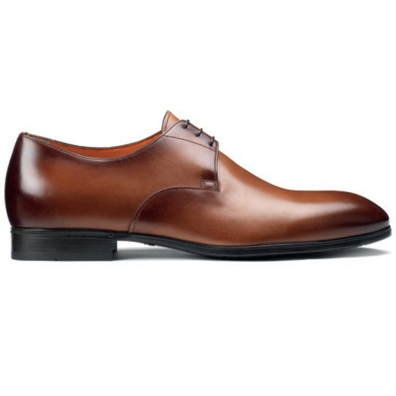 Santoni Induct O1 Derby Shoes Brown Image
