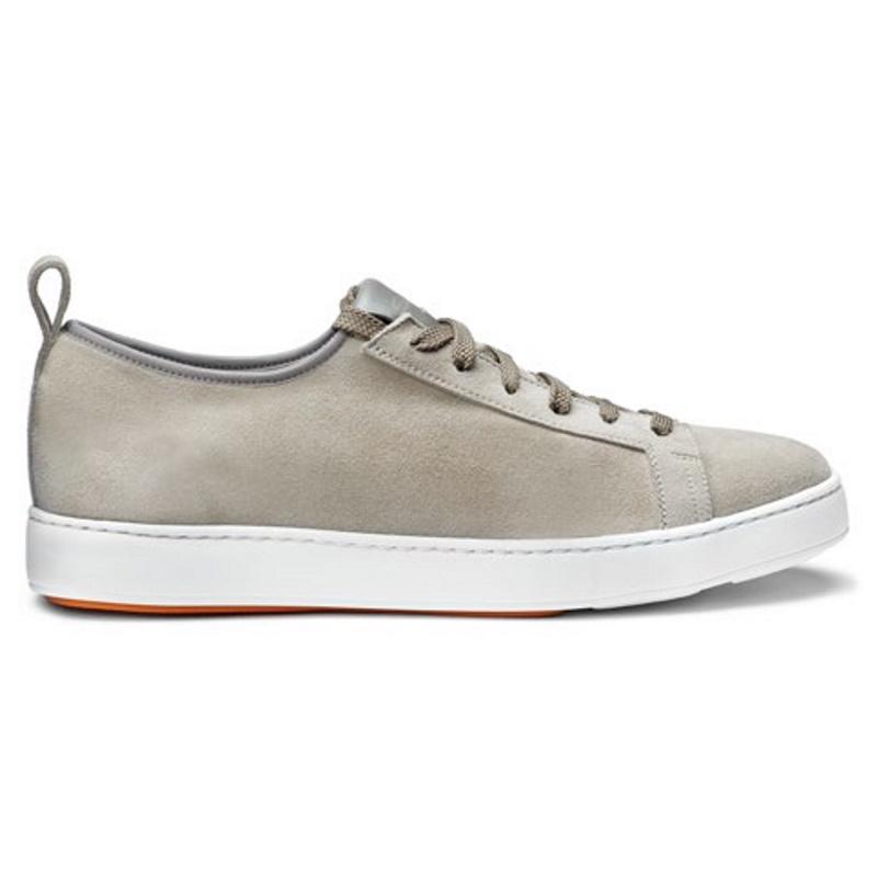 Santoni Inhabit Suede Sneakers Tan Image