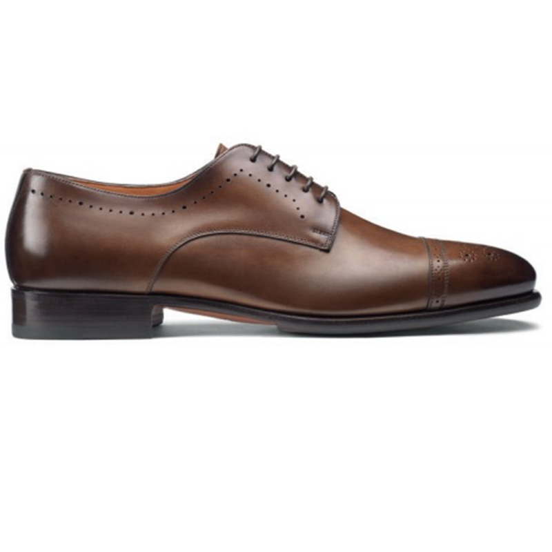 online store 19559 f38a1 Santoni Ironside O3 Derby Shoes Brown