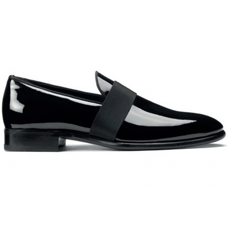 Santoni Isomer V3 Slip-on Shoes Black Image