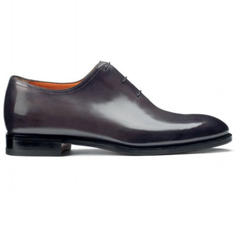 Santoni Lawrence 2152 S1 Oxfords Grey Image